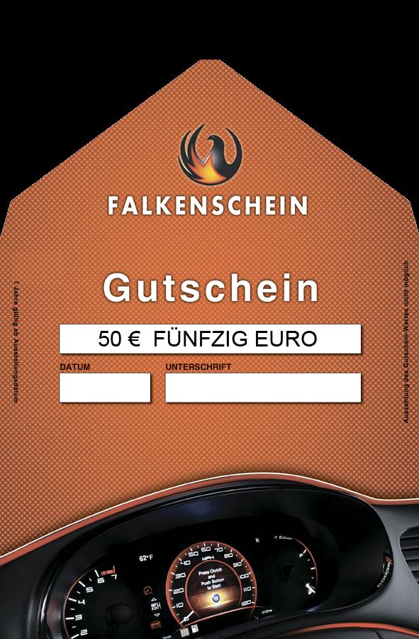 Wertgutschein Autoaufbereitung 50€